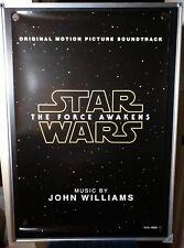 Star Wars The Force Awakens Soundtrack John Williams Original 27x40 Movie Poster