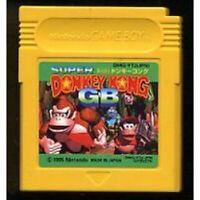Game Boy Nintendo Donkey Kong GB Japan Cartridge Only Japanese
