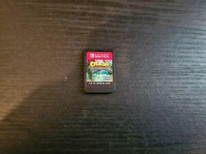 Crash Bandicoot N Sane Trilogy (Nintendo Switch) CART ONLY. GC. Free P+P.
