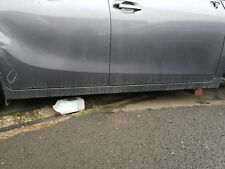 TOYOTA VERSO 2009-2014 DRIVER RIGHT SIDE SKIRT WILL COVER