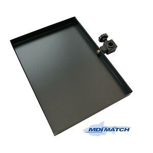 """MDI Match D25 Seat Box Shallow Metal Side Tray Size 14x10"""" (36x26cm)"""