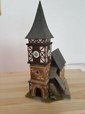 Dorfkirche H0 sehr schön gebaut guter Zustand