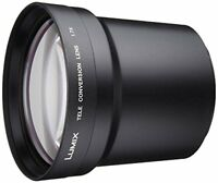 New Panasonic DMW-LT55 Tele Conversion Lens For FZ30 FZ200 Japan Import
