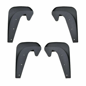 Mud Flaps Splash Guards for Front or Rear Auto 4PCS Universal Accessories Car