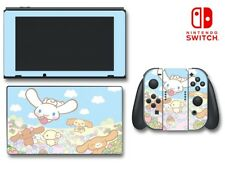 Cinnamoroll and Friends Cute Kitty Bunny Game Decal Skin for Nintendo Switch