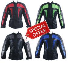 4141 Motorbike Motorcycle Textile Short Breathable Jacket Attachment Zip