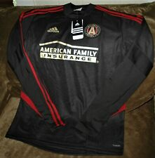 Atlanta United long sleeve jersey men's medium NEW with Tags Adidas Climacool