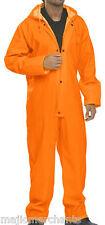 Alles in eins WASSERDICHTE Regenanzug Overall Orange Herren Arbeitskleidung
