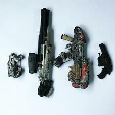 Lot 4 pcs Gears Of War Weapons accessories toy QA79