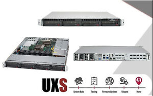 1U Supermicro Server X10DRW-iT SYS-6018R-WTRT 2x E5-2680 V3 16GB 2x 10GBase-T