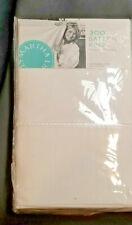 Martha Stewart 300 Thread Count White SATEEN Pillowcases Set of 2 KING