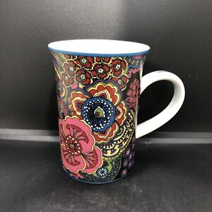 Vera Bradley ~ Symphony In Hue Coffee Tea Mug Cup  Barnes & Noble