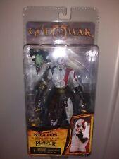 NECA Player Select God of War 2 Kratos Action Figure Medusa Head -New In Box NIB