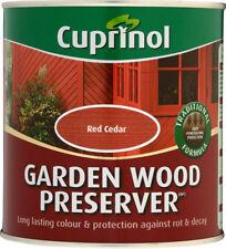 Cuprinol Ultimate Garden Wood Preserver - 1L Red Cedar