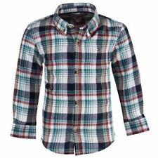 Tommy Hilfiger Boys' 100% Cotton Long Sleeve Sleeve Shirts (2-16 Years)