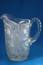 ABP IMPERIAL GLASS MONGOL VARIANT CLEAR PITCHER