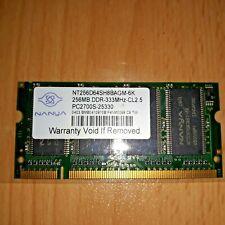 RAM SODIMM PC2700 333MHZ 256MB