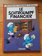 bande dessinée BD : 16 les schtroumpfs financier