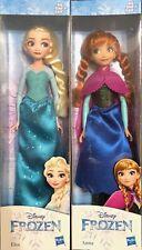"""2 Dolls Disney Frozen Elsa & Anna 10"""" Doll"""