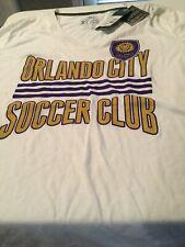 Adidas Women's Orlando CIty Soccer Club Tee Shirt Size XL