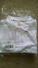 Nip Crazy 8 Boys White Short-sleeved Shirt - size 5-6/ S - Uniform