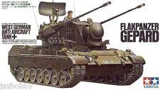 Tamiya 35099 1/35 Model Kit West German Anti Aircraft Tank Flakpanzer Gepard