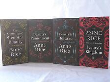 Sleeping Beauty #1-4: Books Series by Anne Rice writting as A.N. Roquelaure (PB)
