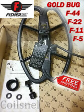 "NEL HUNTER 12.5""x8.5"" DD search coil for Fisher F-5,F-11,F-22,F-44 GOLD BUG"