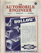 1946 Automobile Engineer March-Austin; Direct injection alcohol; Electric Clutch