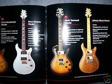 RARE PAUL REED SMITH CATALOG! PRS SANTANA MARK TREMONTI GUITAR - rare 2007
