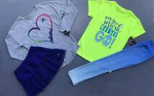 GIRL'S 6X UNDER ARMOUR/ADIDAS LOT ITEMS FALL SHIRTS/SKORT/LEGGINGS OUTFITS NWT