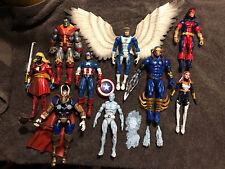 Marvel Legends 6? Custom Fodder 9 Figure Lot X-men Avengers Captain America Thor