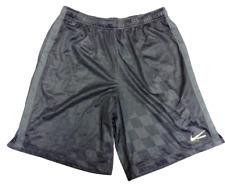 Mens Nike 506654 010 Black Volt Green Lacrosse Style Dri Fit Sports Shorts