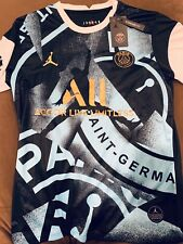 VERY RARE Paris Saint Germain Neymar Jr Air Jordan Big Logo Jersey