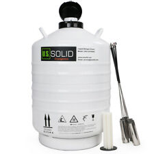 30 L Liquid Nitrogen Container Tank Ln2 Storage Dewar 6 Pcs Pails Ussolid