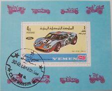 Yemen 1969 - Block Ford GT 40, auto racing used