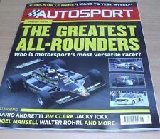 February Weekly Autosport Transportation Magazines