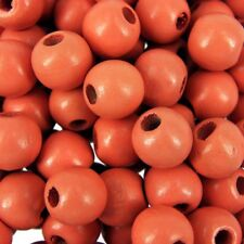 T43S String of 8mm Coral Beads for Jewellery Making