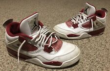 Air Jordan IV 4 Retro Alternate 89 308497-106 Size 13 Used Trashed Beaters