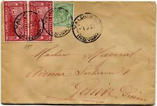 1926 San Francesco 2x 60 cent. destinazione Ginevra Svizzera