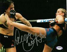 PAIGE VANZANT - SIGNED AUTOGRAPHED 8X10 PHOTO - UFC - PSA DNA COA