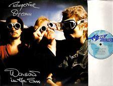 "TANGERINE DREAM warsaw in the sun 12"" PS EX/EX JIVE T 74 uk jive electro 1984"