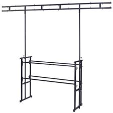 Gorilla GDS-5 4ft Disco DJ Stand Booth Twin-Bar Lighting Equipment Table Rig