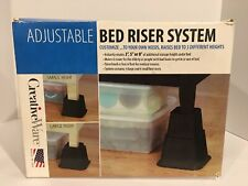 CreativeWare™ Adjustable Bed Riser System NEW in Box