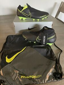 Nike Phantom Vision Elite FG Soccer Cleats w/ Bag AO3262-007 Men's Sz 6.5