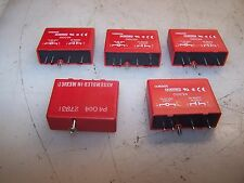 (5) LOT OF 5 NEW CROUZET OUTPUT RELAY MODULE MODEL ODC24