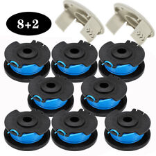 Spool Iine & Cap Cover Trimmer Strimmer Line Fit For Ryobi One + Ac14Rl3A