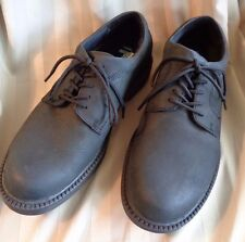 Dr Scholl's~Black~Soft~Nubuk~Leather~5 Eye~Oxfords/Shoes~Mens Size 7.5 M~EC