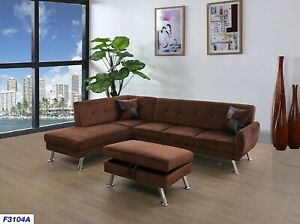 sectional,L shape,furniture,Sectional with Ottoman,Modern