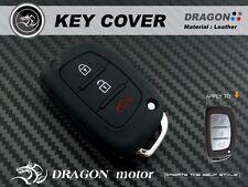 Silicon Key fob Holder Case Chain Cover FIT For HYUNDAI IX-45 IX-35 Elantra